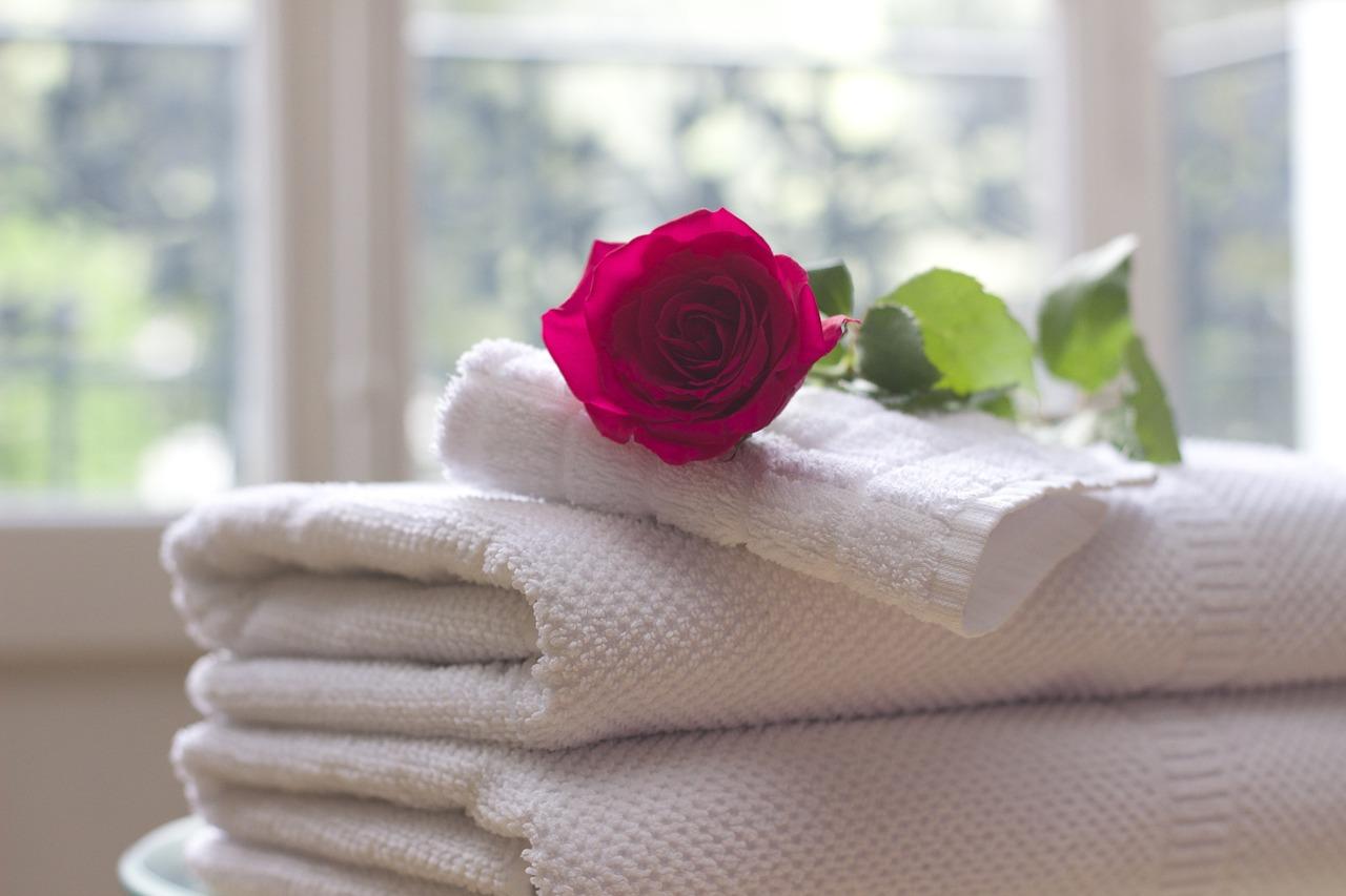 Ricetta sali da bagno fai da te alla rosa