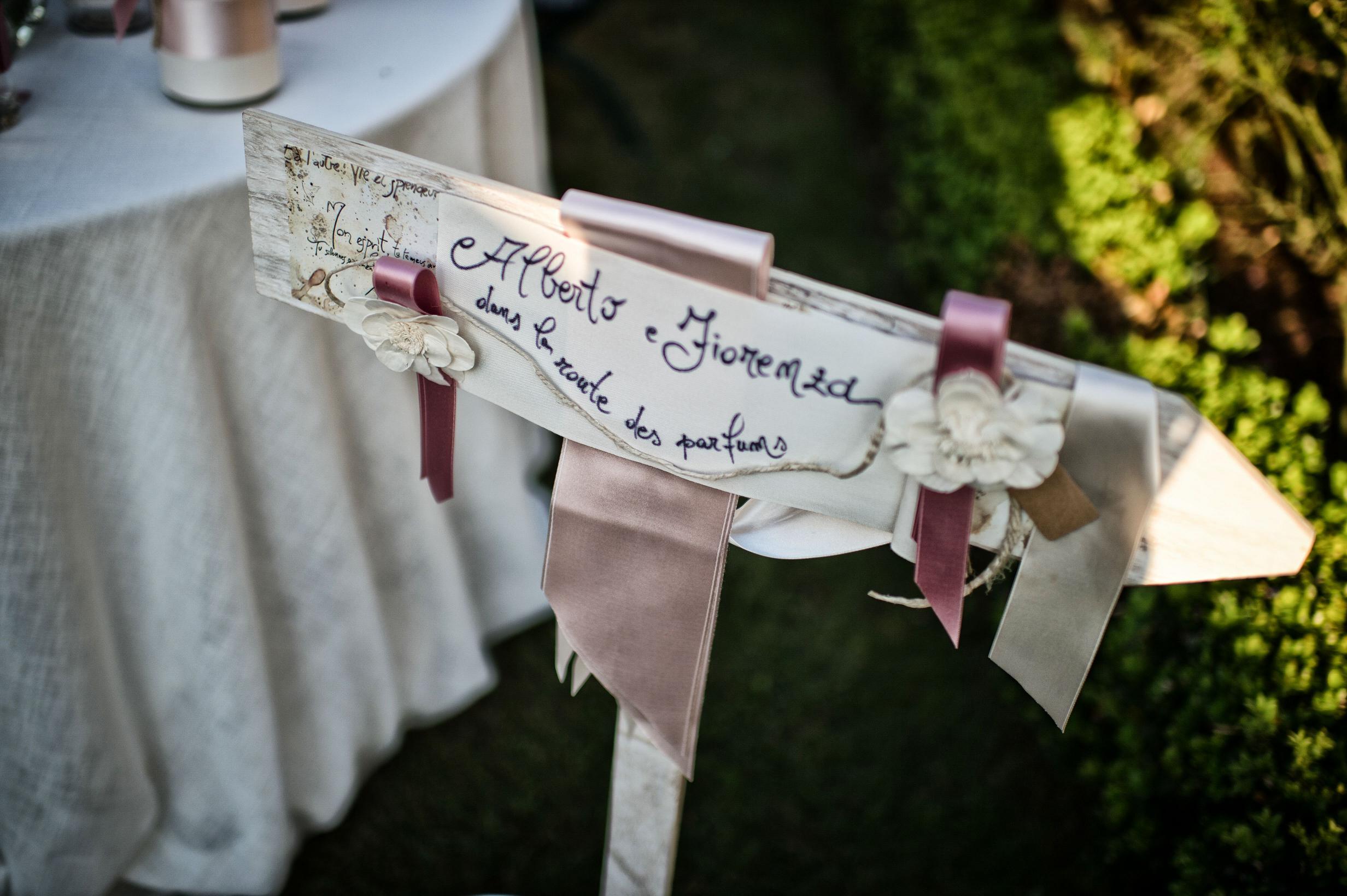 tableau de mariage essenze