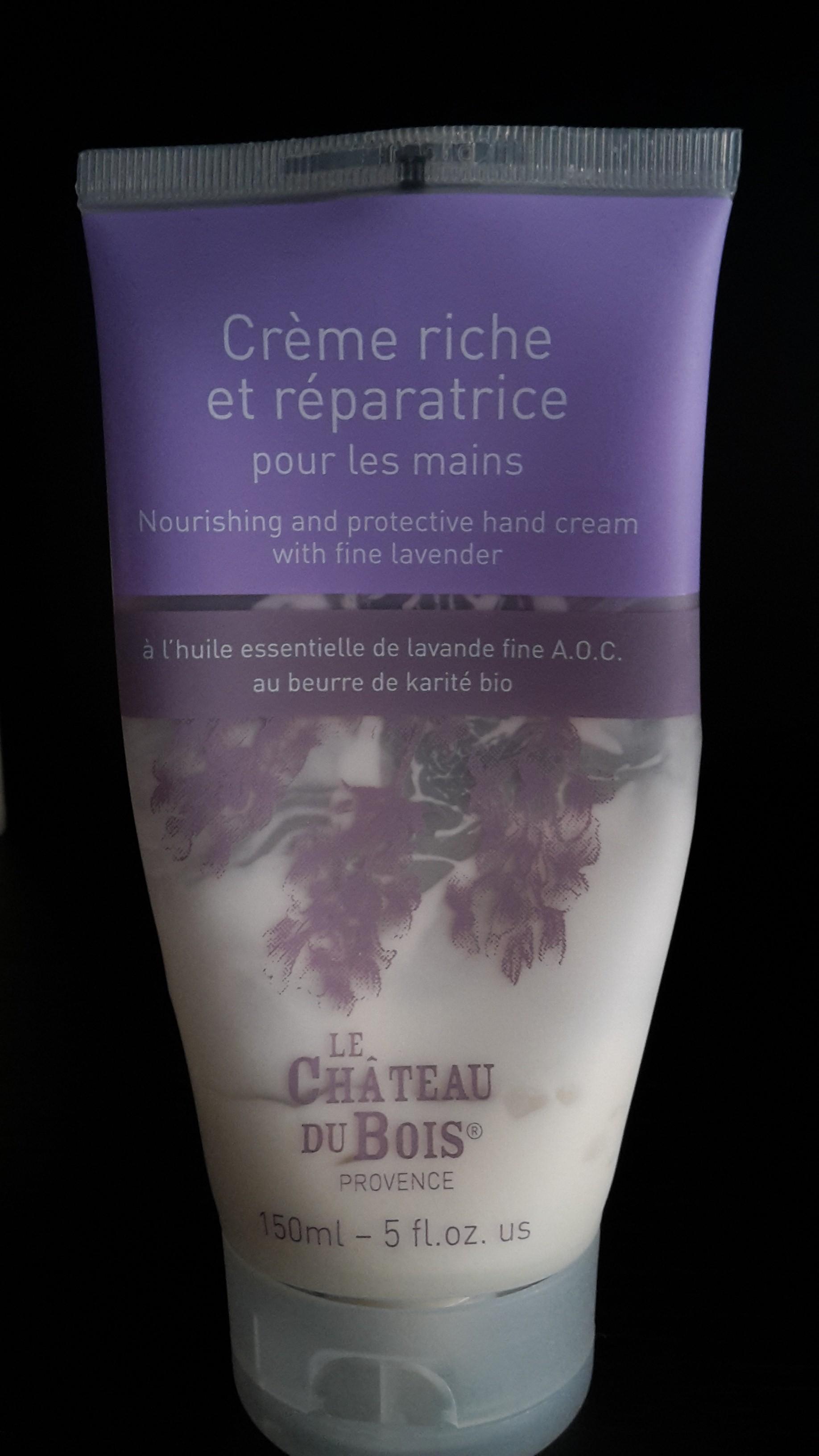 Crema mani riparatrice Le Chateau du Bois: recensione