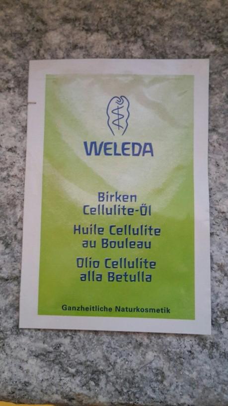 Olio cellulite di Weleda: opinione