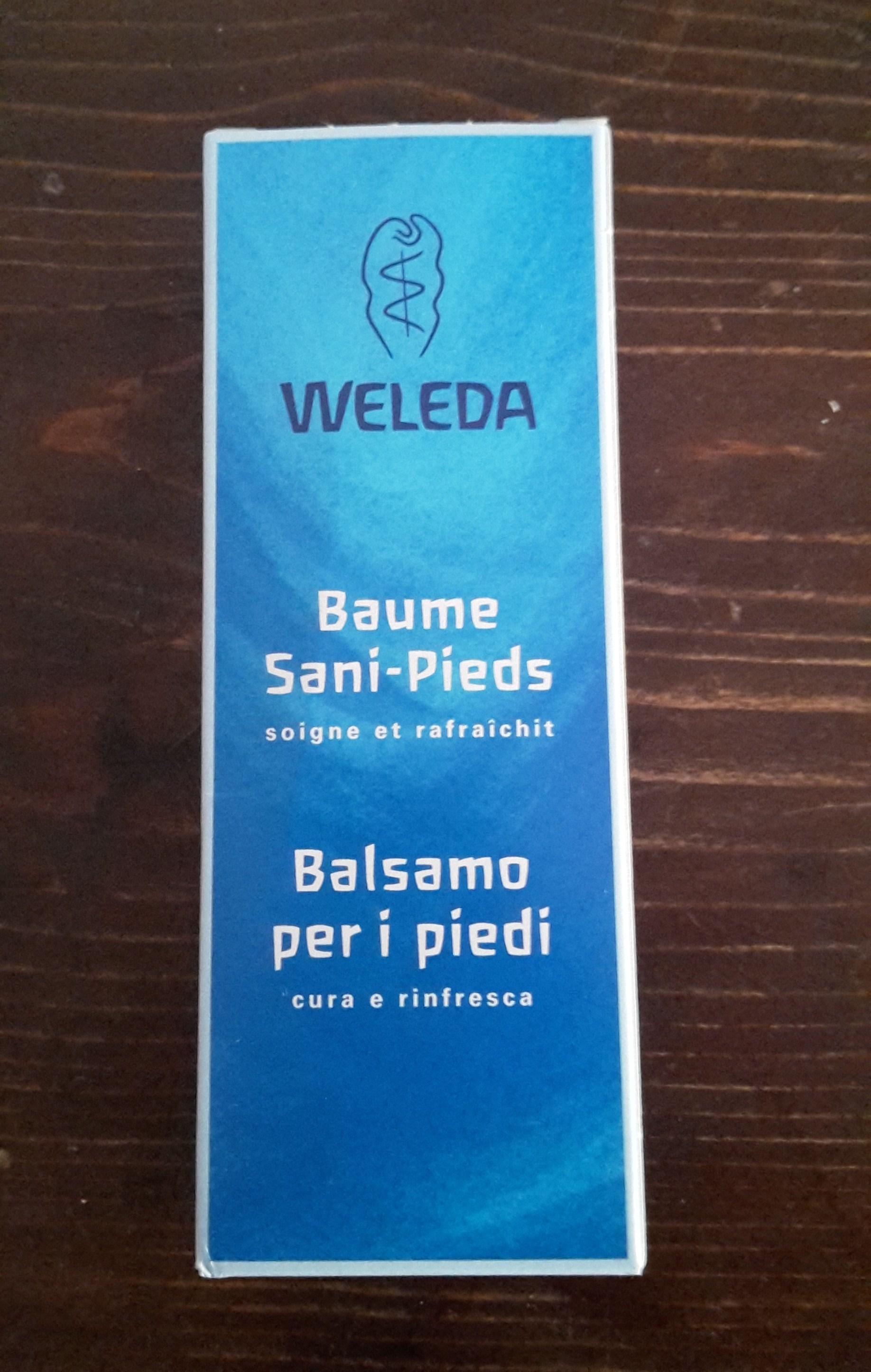 Recensione crema piedi di Weleda