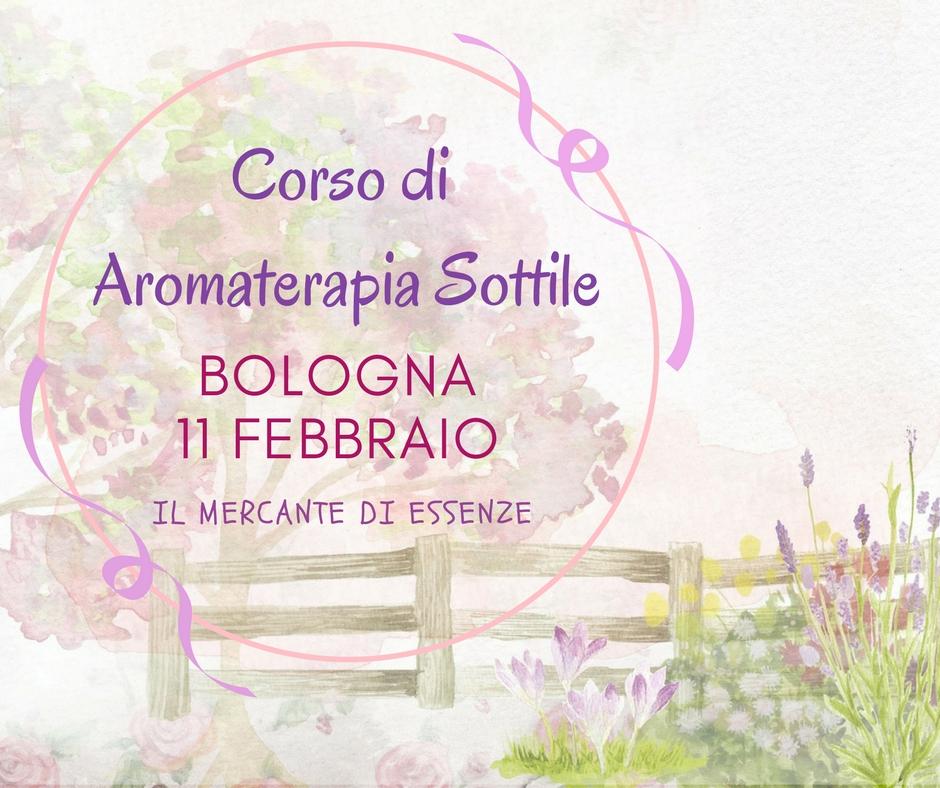 corsi di aromaterapia bologna