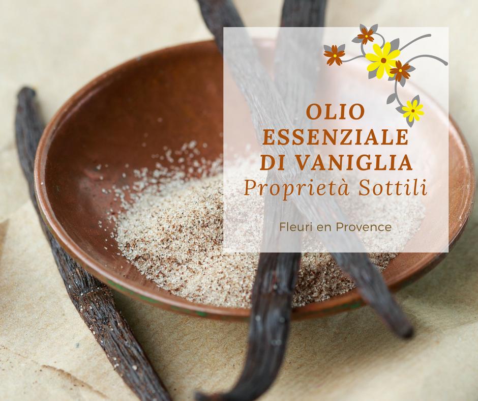 Olio essenziale di vaniglia: proprietà sottili