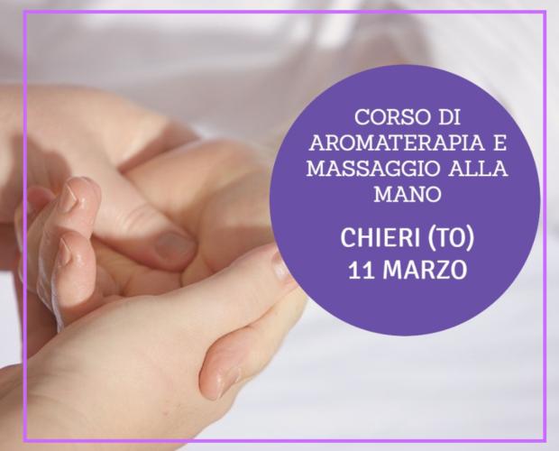 corso massaggio della mano