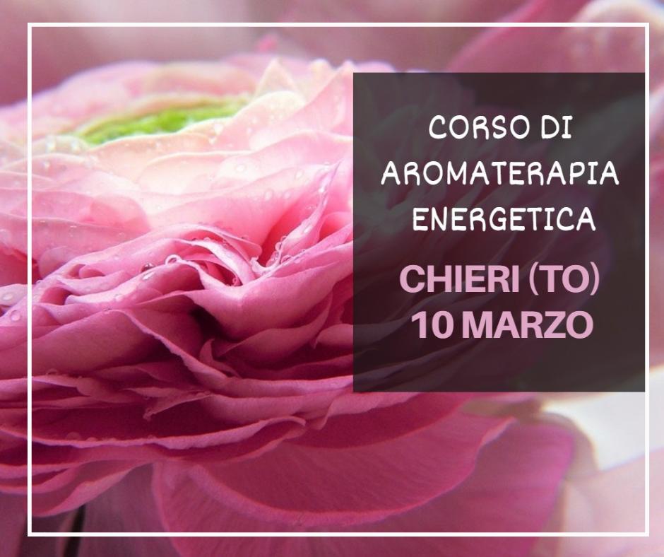 Corso di aromaterapia Torino 10 marzo 2019: i chakra e la magia delle piante