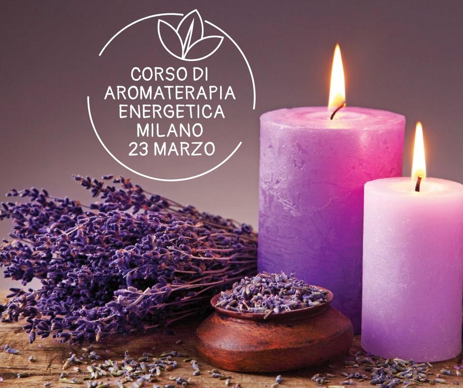 Corso di aromaterapia Milano 23 marzo 2019: i chakra e la magia delle piante
