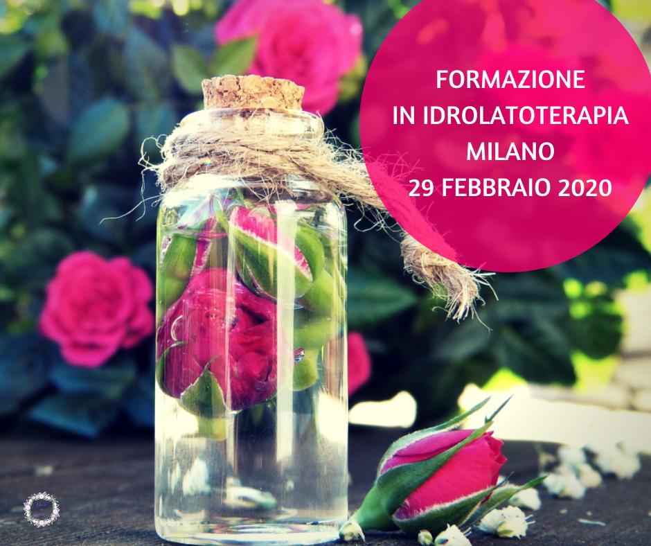 Corso di aromaterapia Milano: acque aromatiche 29 febbraio 2020
