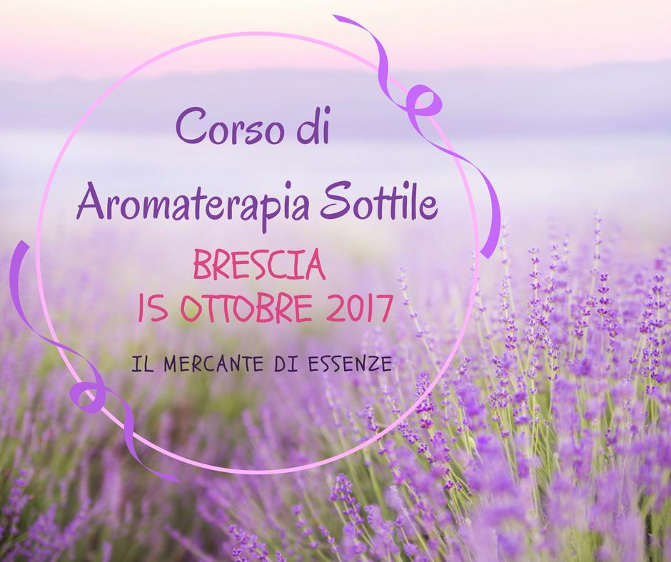 corso di aromaterapia brescia
