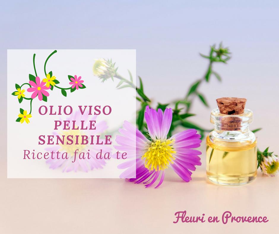 olio viso pelle sensibile