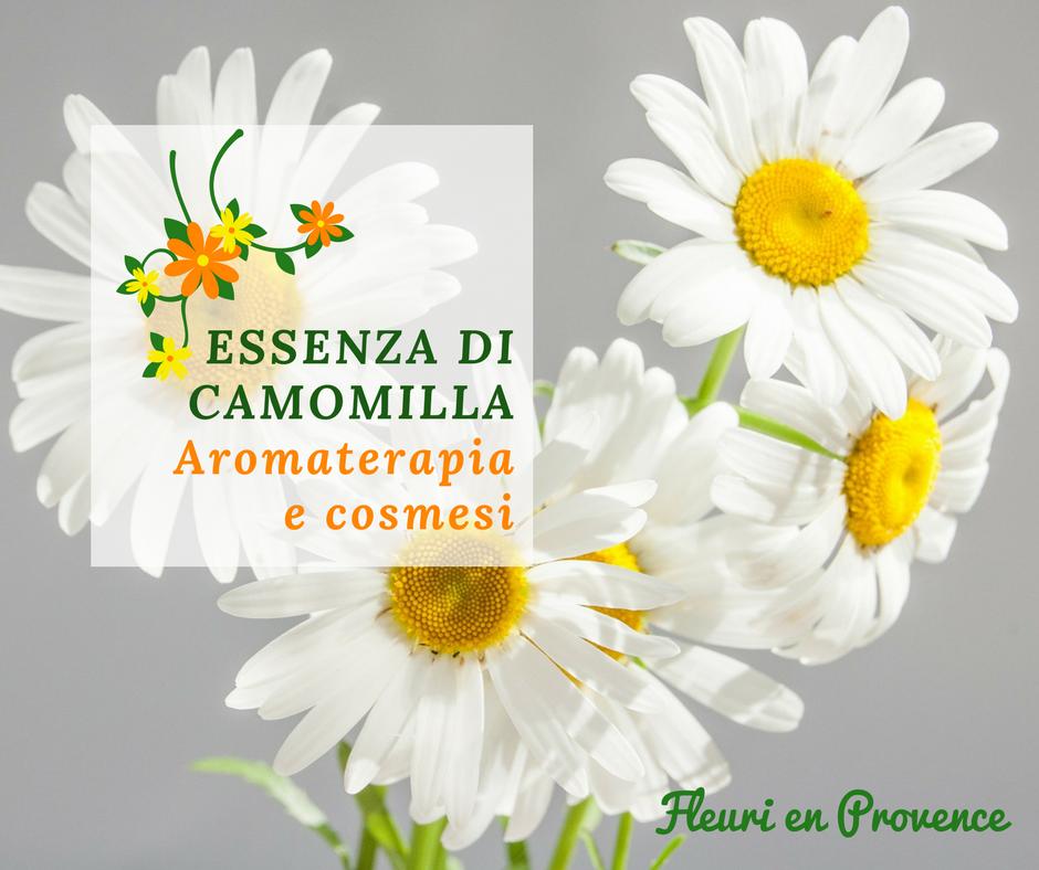Olio essenziale di camomilla in cosmesi e aromaterapia