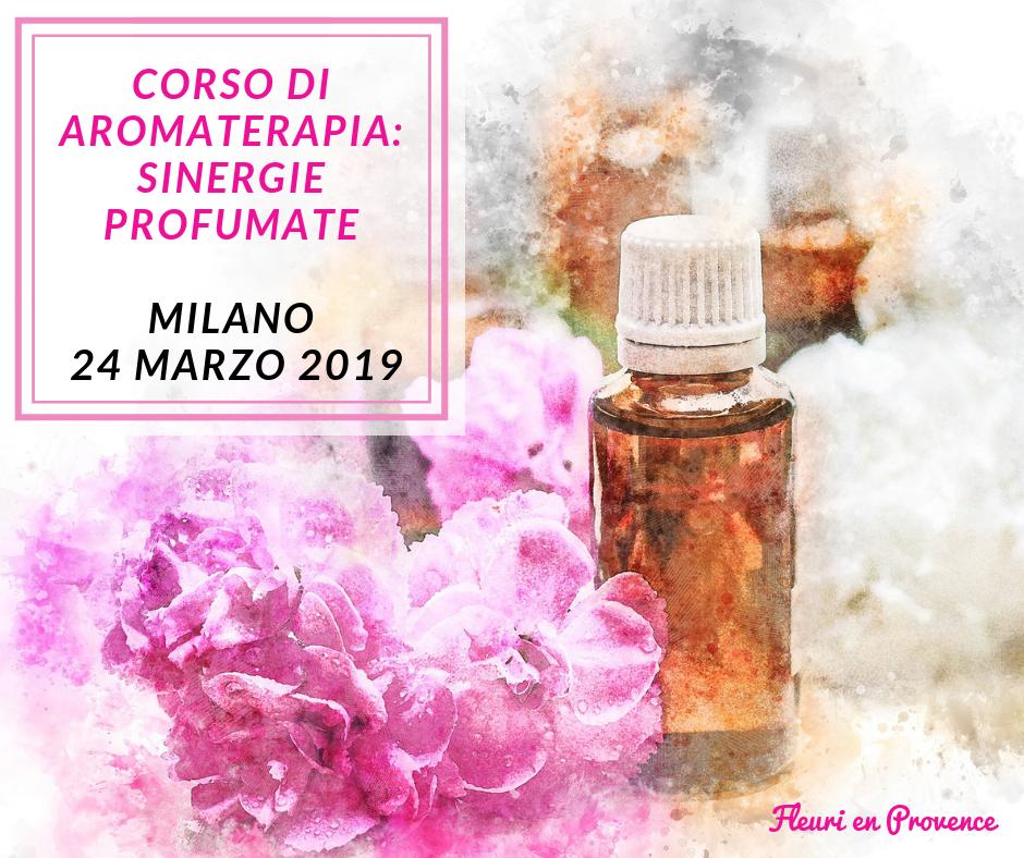 Corso di aromaterapia Milano 24 marzo: sinergie profumate con gli oli essenziali